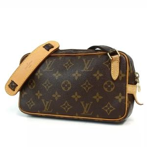 AUTH LOUIS VUITTON M51828 MONOGRAM  SHOULDER BAG